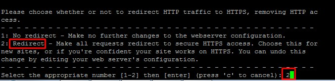 Redirect ownCloud to HTTPS